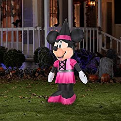 Disney Minnie Mouse 5 Ft. Tall Halloween Inflatable Yard...
