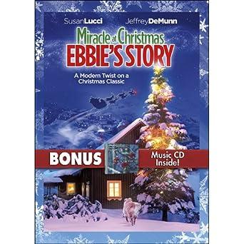 62eecfcb13 Amazon.com: Miracle At Christmas: Ebbie's Story with Bonus CD ...