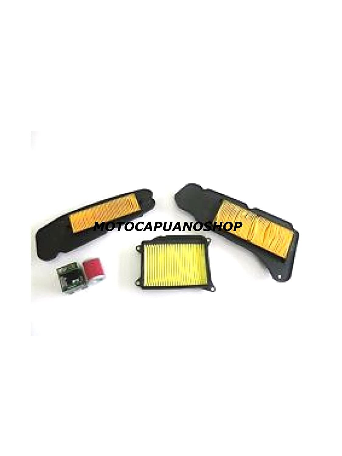 Kit 3/filtros filtro aire Aceite laterales Motor Yamaha Majesty 400