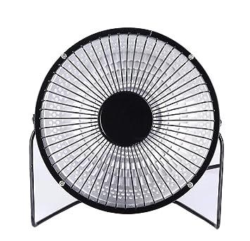 QGGL Calentador Casa Escritorio El pequeño Sol Ventilador eléctrico de Interior Radiador Impermeable Mini Calentador de