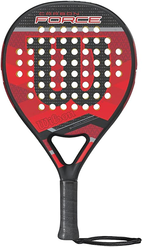 Wilson Carbon Force Paddle Rkt BKRD Pala de pádel, Unisex Adulto ...