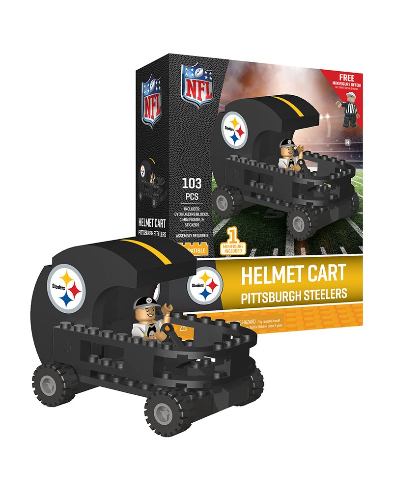 Black//Yellow Oyo Sportstoys NFL Pittsburgh Steelers Sports Fan Bobble Head Toy Figures One Size