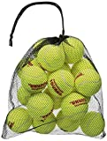 Tourna Mesh Carry Bag of Tennis Balls (Bag of 18 Balls)