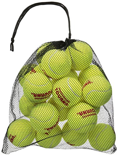 Tourna Mesh Carry Bag of 18 Tennis Balls (Bag Gift Tennis)