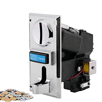 Coin Operated Timer Controller Board Multi Coin Acceptor Selector Slot for  Arcade Game Mechanism Vending Machine
