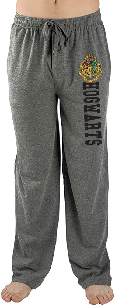 Bioworld Harry Potter Hogwarts Guys Pajama Sleep Pants