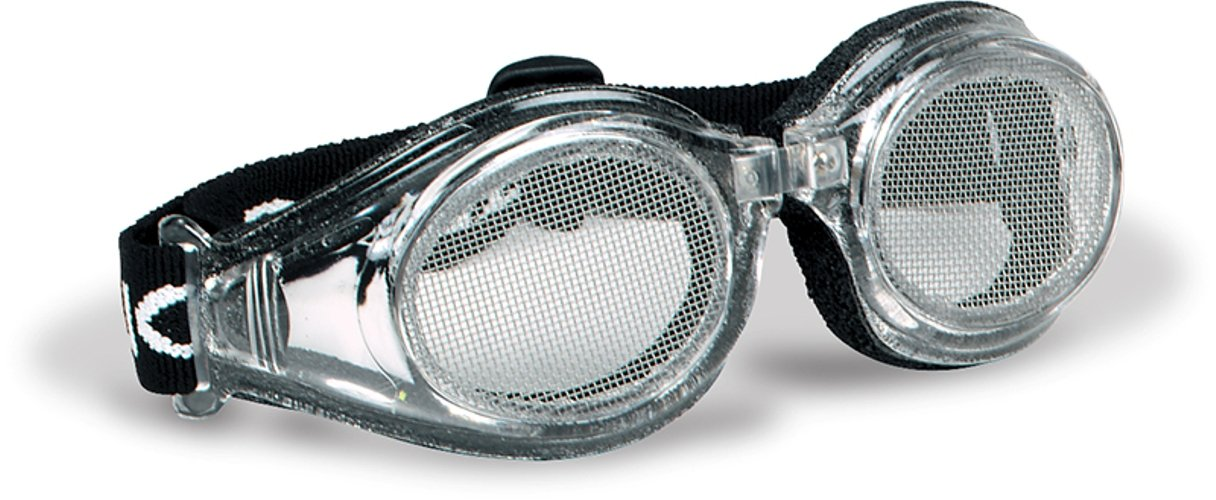 Bugz-Eye Sight Shield Steel Mesh Anti Fog Safety Goggles - 30 Mesh