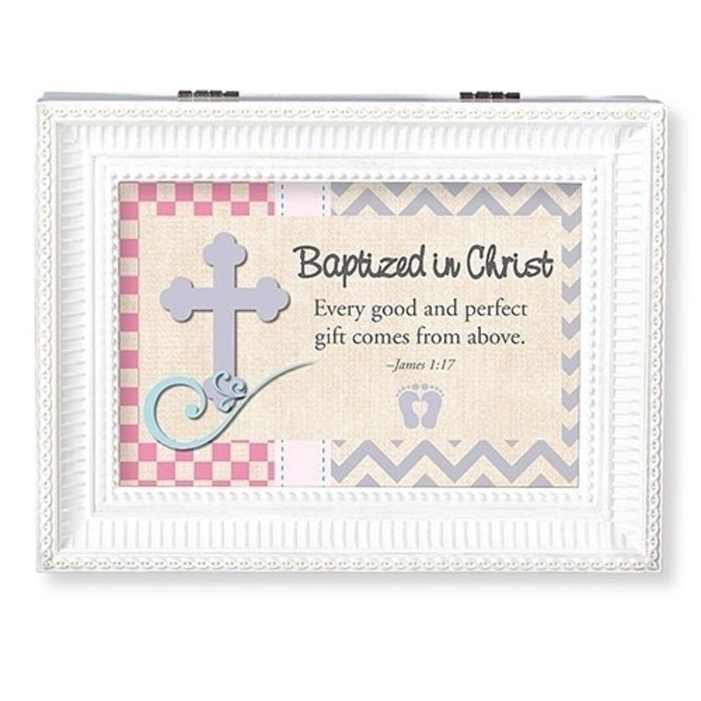 【日本未発売】 Roman Christ Baptized ホワイト in Christ Lサイズ オルゴール ホワイト B07DXHDF29 B07DXHDF29, まちのみしんやさん:aa3716bb --- hohpartnership-com.access.secure-ssl-servers.biz