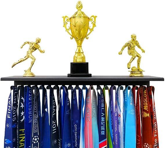 UK Display Holder Hanger 36//60 Medal Run Sport Stainless Trophies Rack Wall Hook