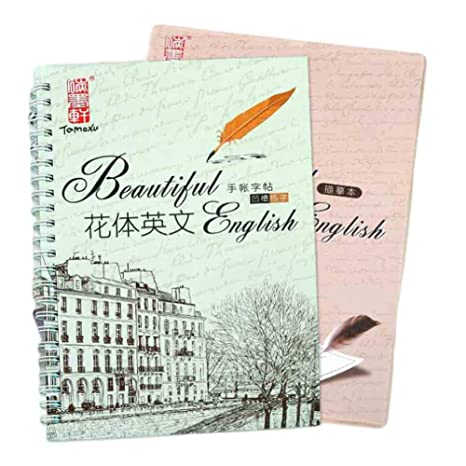 Amazon com : Round Hand English Copybook for Calligraphy