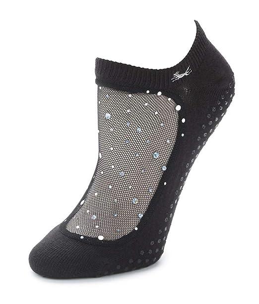 2c580caef Shashi Star Glitter Mesh Non-Slip Sock, Ergonomic, Comfort Socks at ...