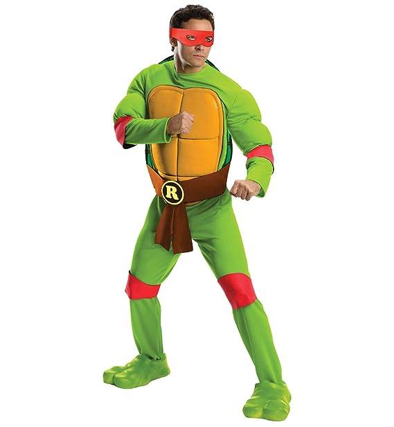 Amazon.com: Rubies 810141 Adult Deluxe Teenage Mutant Ninja ...