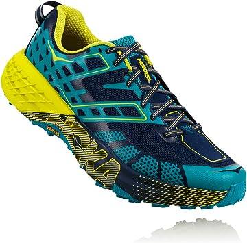 Hoka Speedgoat 2, Zapatillas para Trail-Running Hombre, Caribbeansea/Bluedepths, 44 EU: Amazon.es: Deportes y aire libre