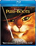 Cover Image for 'Puss in Boots (Two-disc Blu-ray/DVD Combo + Digital Copy)'