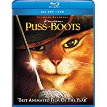 Puss in Boots (Two-disc Blu-ray/DVD Combo + Digital Copy) (2011)