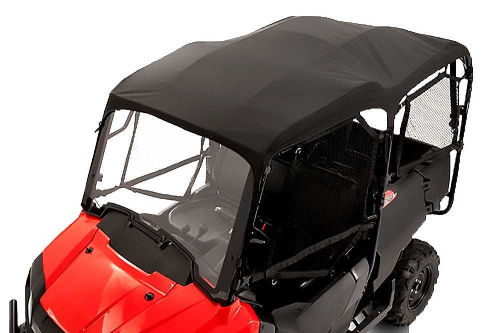GENUINE HONDA PIONEER 700 4P 4 PERSON BLACK SOFT BIMINI CANVAS TOP 2014-2016 0SR85-HL3-323A