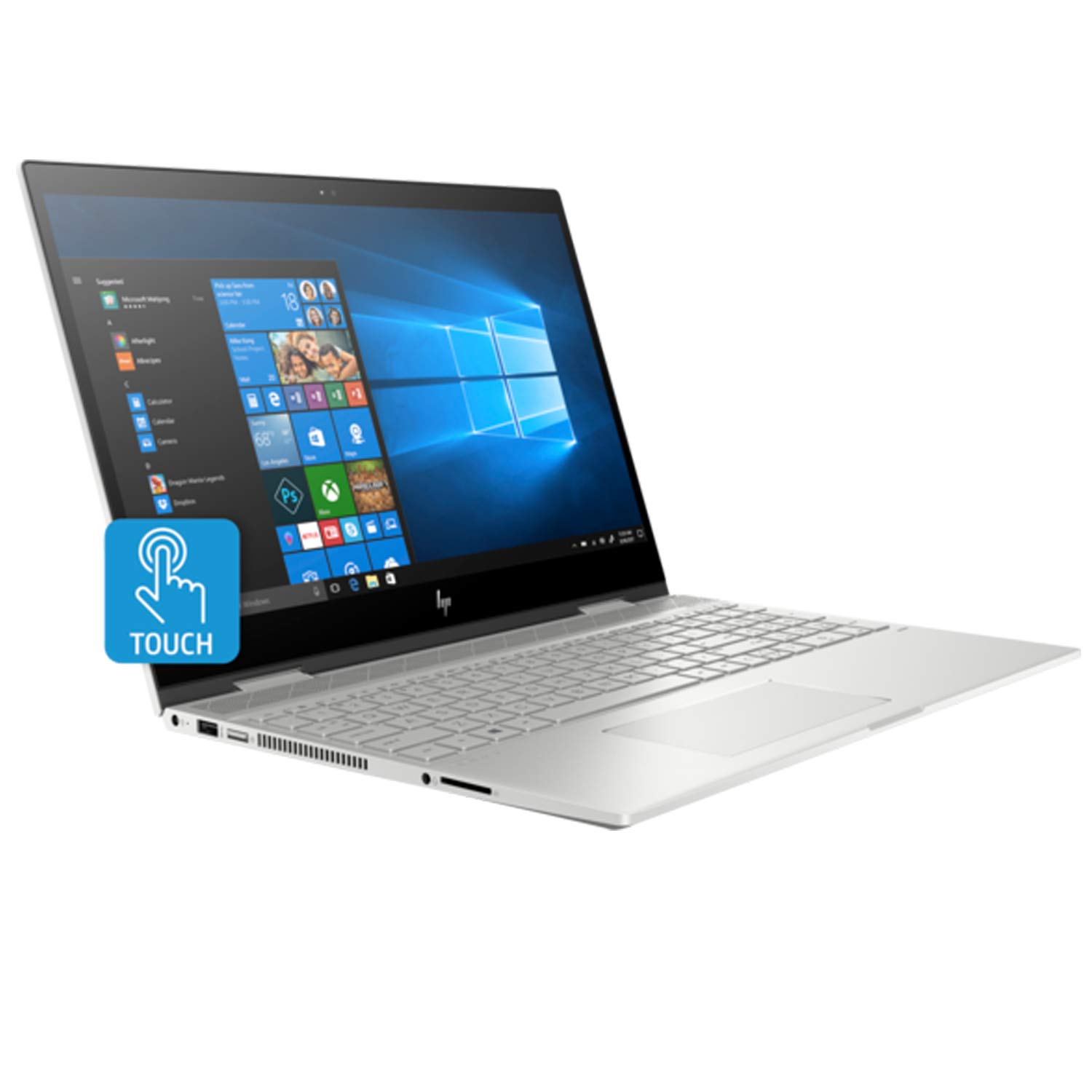 Amazon.com: HP Envy X360 15t Convertible 2-in-1 Premium Home Business Laptop (Intel 8th Gen i7-8550U Quad-Core, 16GB RAM, 1TB HDD + 16GB Intel Optane, ...