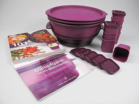 Tupperware Microondas Micro Gourmet Vaporera, Vapor, moldes (8 ...
