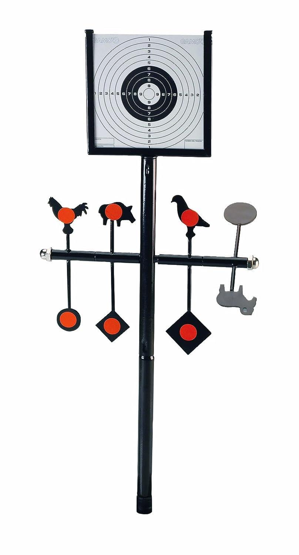 Gamo - Sistema de diana para tiro Spinner Target Deluxe, color negro, 203231