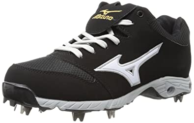 Mizuno Men's Advanced Pro Elite Baseball Cleat,Black/White,9 ...