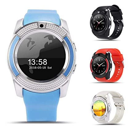 Amazon.com: omyyf Smart Watch V8 Intelligent Men Watch Smart ...
