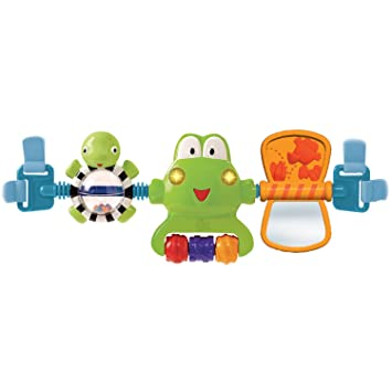 Bright Starts Hop Along Carrier Toy Bar