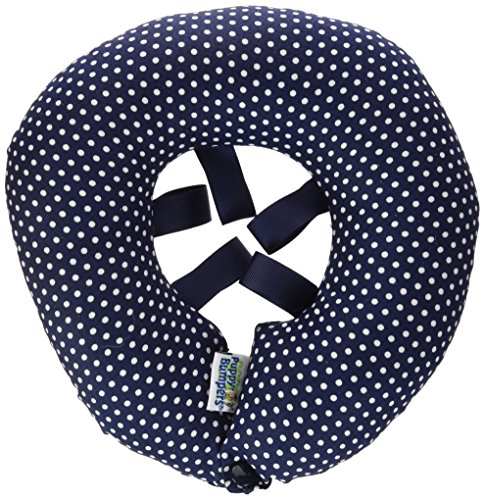 (Puppy Bumper - Keep Your Dog on the Safe Side of the Fence - Navy Dot - 10-13)