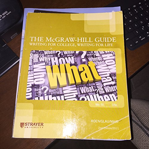 college writing guide The estimated amount of time this product will be on the market is based on a number of factors, including faculty input to instructional design and the prior.