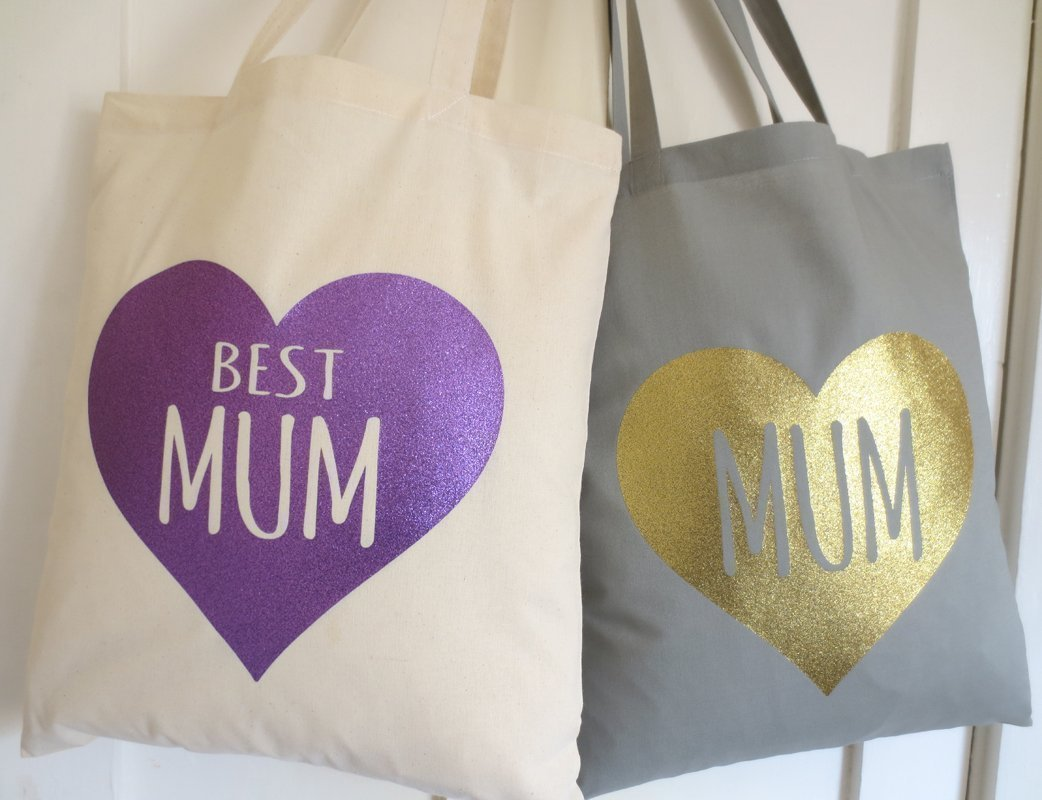 Super Mum Mums Supplies Powered By Love Sustained By Gin Wine Gift For Moms Mothers Day Tote Bag Cute Moms Shopping Bag Best Mum Ever
