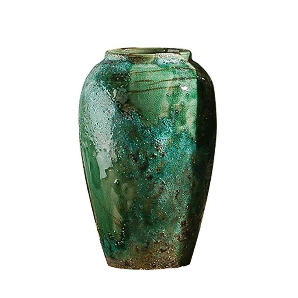 円柱装飾花瓶 レトロセラミック小さな花瓶AXZH19052148ドライフラワーカラフルな装飾品、装飾フラワーアレンジメントホーム手作り工芸品 写真円柱装飾花瓶ライフ花瓶フラワーショップブーケボックス B07S6FVMJZ