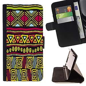 King Case - FOR Sony Xperia Z2 D6502 - others would believe - Prima caja de la PU billetera de cuero con ranuras para tarjetas, efectivo Compartimiento desmontable y correa para la mu?eca