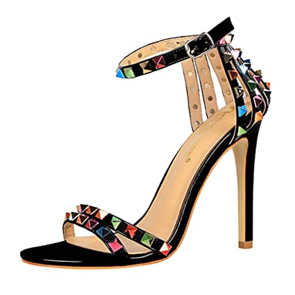 9ce39d9311d Amazon.com: Clearance! YEZIJIN New Fashion Women Thin-Heeled Sandals ...