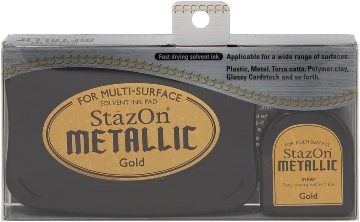 Copper Tuskineko Stazon Metallic Ink Kit