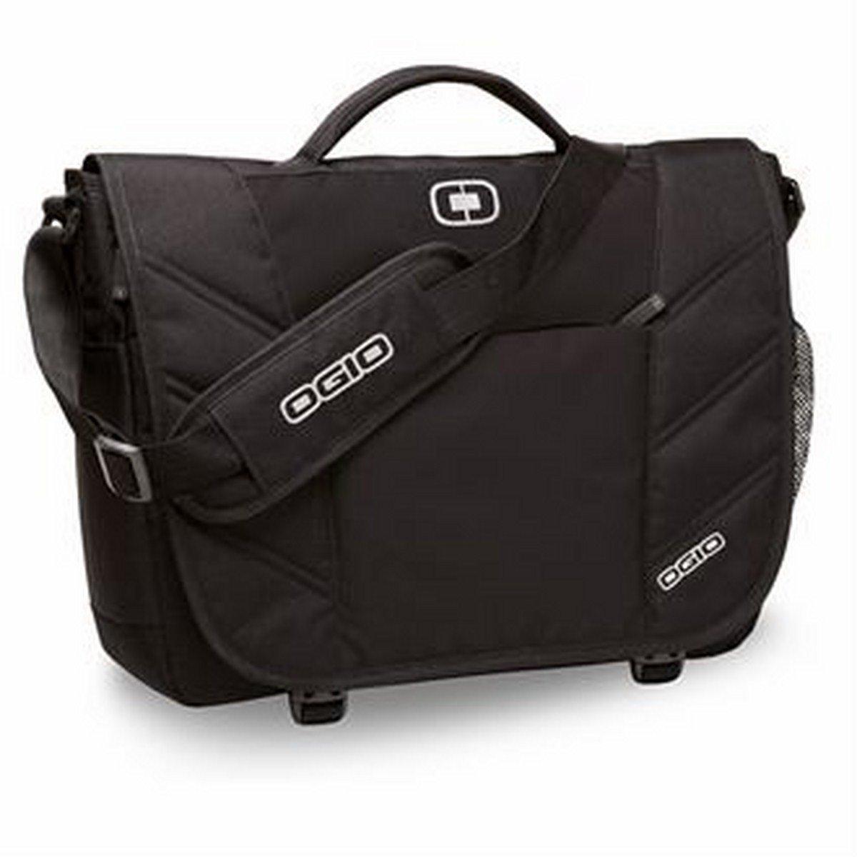 OGIO 417015 - Black Upton Computer Laptop Messenger Bag/Briefcase, Black