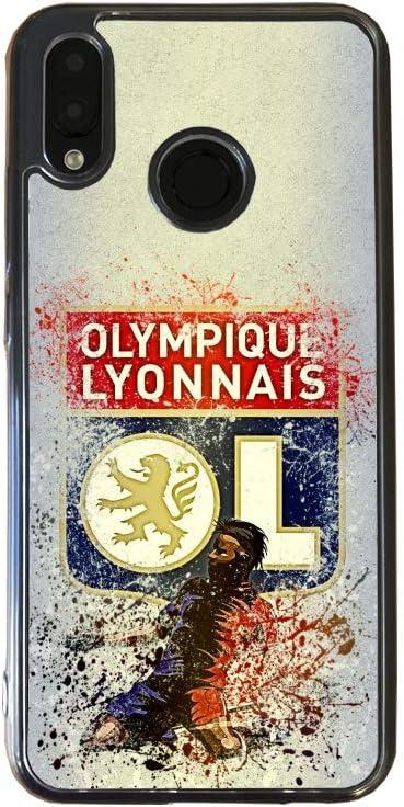 Coque Silicone Huawei P20 Lite Fan de Ligue 1 Lyon Splatter ...