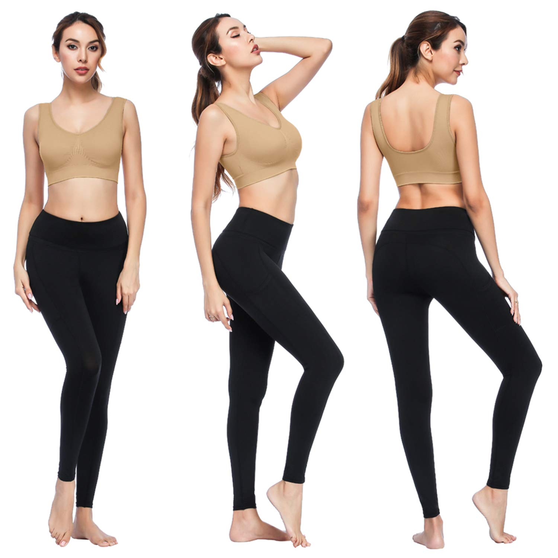 Amazon.com: Sujetadores para mujer, ZOUYUE sostén de yoga ...
