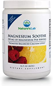 Magnesium Soothe - 350mg - 16.5oz (100 Servings) Protein Synthesis, Muscle and Nerve Function, Blood Pressure Regulation, Energy Production, Overall Cardiovascular Health.