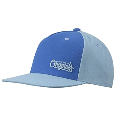 ADIDAS ORIGINALS BABY BLUE SNAPBACK CAP 5-PANEL HAT FLAT PEAK ... be437356cd2
