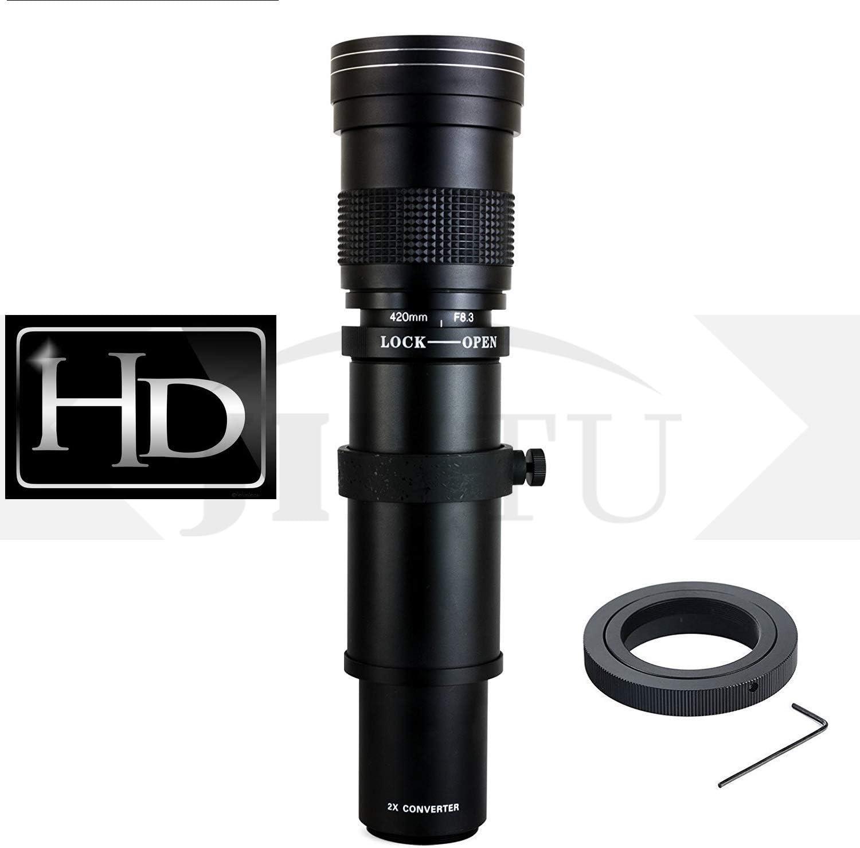 Teleobjetivo manual 420-800 mm F/8.3-16 de marco completo para ...