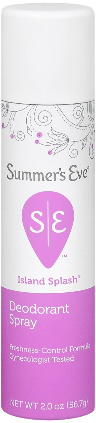 SUMMER'S EVE Feminine Deodorant Spray-Island Splash-2 oz, 2 pk
