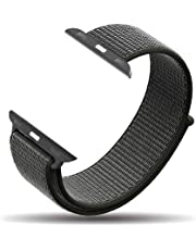 amBand Compatible for Apple Watch Sport Loop Band 38mm 40mm 42mm 44mm, Lightweight Breathable Nylon for Women Men Replacement Band Compatible for iWatch Series 1/2/3/4, Sport, Edition