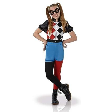 Warner – i-630025s – Disfraz clásico Harley Quinn Superhero Girls