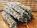 Native American Lavender Sage Smudge Stick - Arizona Grown, Harvested, Blessed. Cleanse, Bless, Heal. POWERFUL!