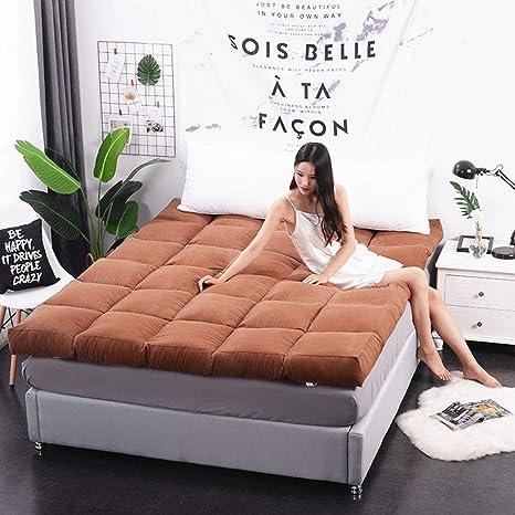 Amazon.com: TENCMG - Colchón de felpa para cama, sofá, cama ...