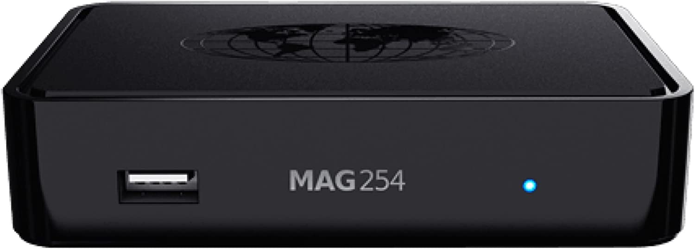 mag 254 - Reproductor Multimedia para TV, WiFi, IPTV, USB, HDMI, HDTV: Amazon.es: Electrónica