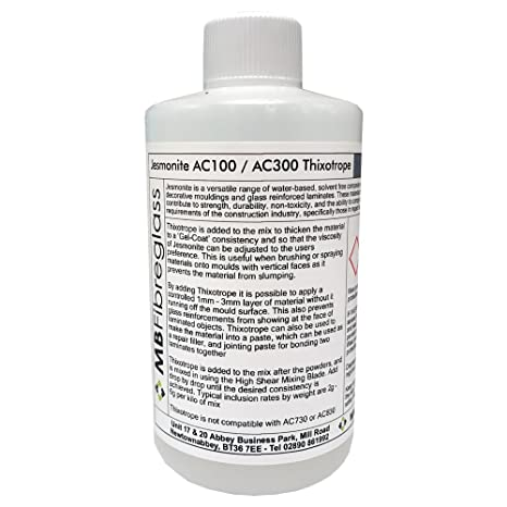 Jesmonite AC100/AC300 tixotropo Thixo para con base de agua resina para moldear de poliuretano
