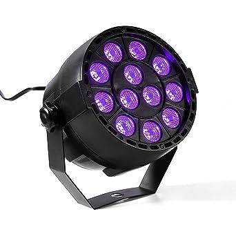 Sonido activado Etapa Luces, Abtong DJ luces LED PAR Luces UV luz LED pared de