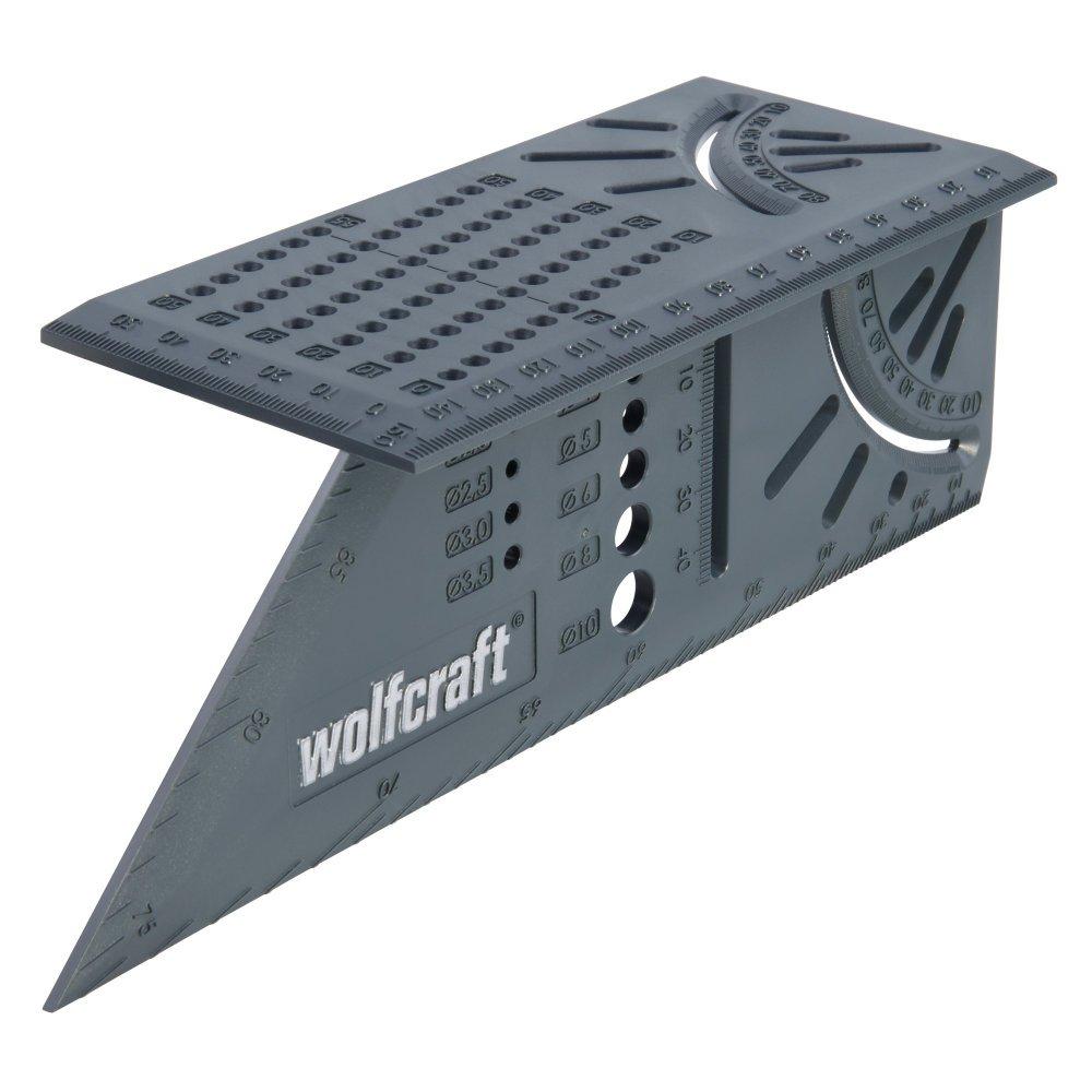 Wolfcraft 5208000 Escuadra 3D 0 W, 0 V, 150 x 275 x 66 mm
