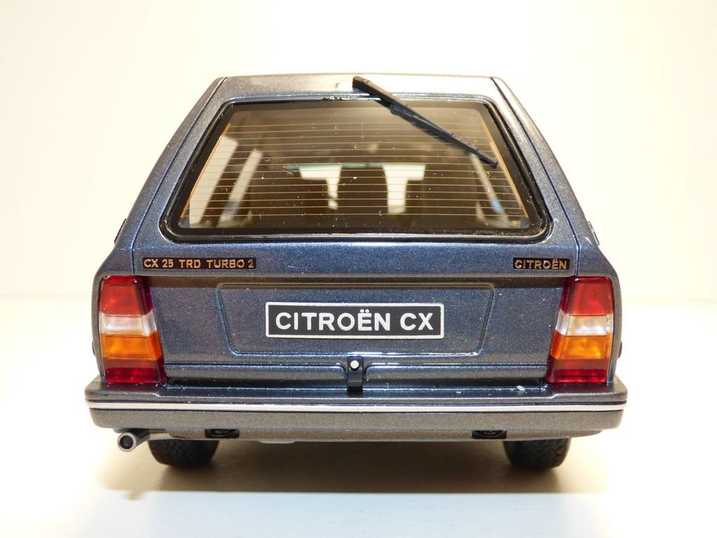Otto Mobile - Citroen - CX 25 TRD Turbo 2 - 1991 Coche de ferrocarril de Collection, ot247, Gris: Amazon.es: Juguetes y juegos