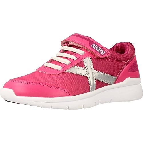 Munich Zapatillas Para Niña, Color Rosa, Marca, Modelo Zapatillas Para Niña Ground Kid VCO Rosa: Amazon.es: Zapatos y complementos